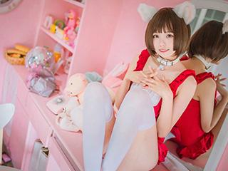 小野妹子COSPLAY猫系泳衣+魔法少女伊