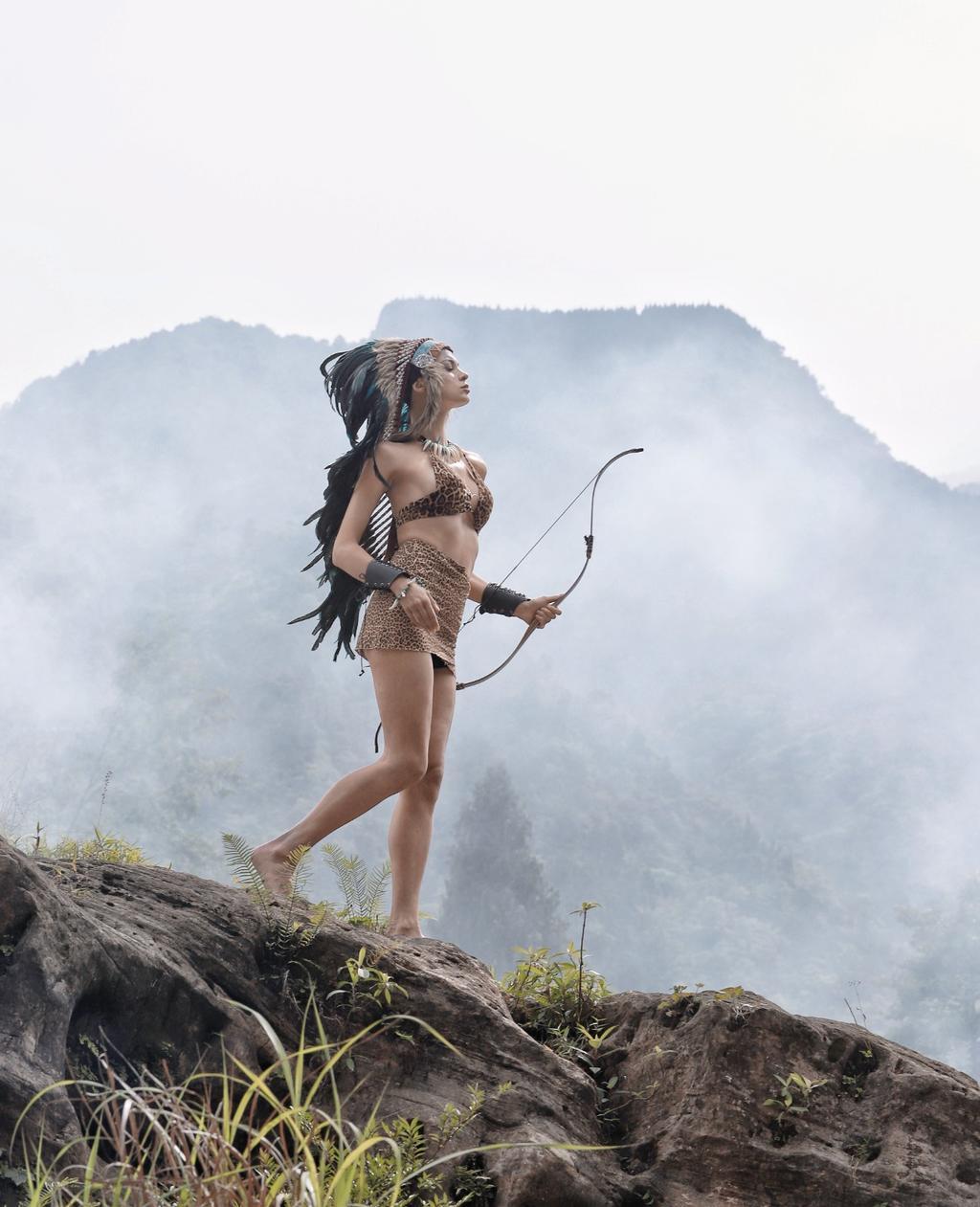 《野性的回去》森系人像摄影作品