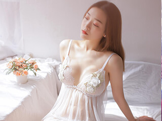 《之夏》唯美性感睡衣人像写真