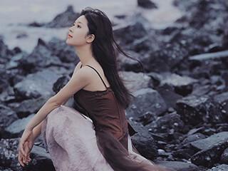 美女图片《致远方》人像摄影作品