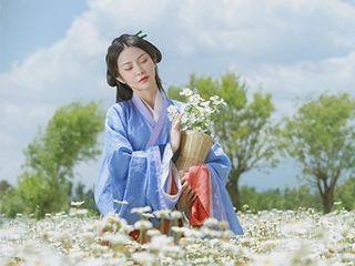 《雏菊》古装汉服人像ㄨ摄影作品欣赏