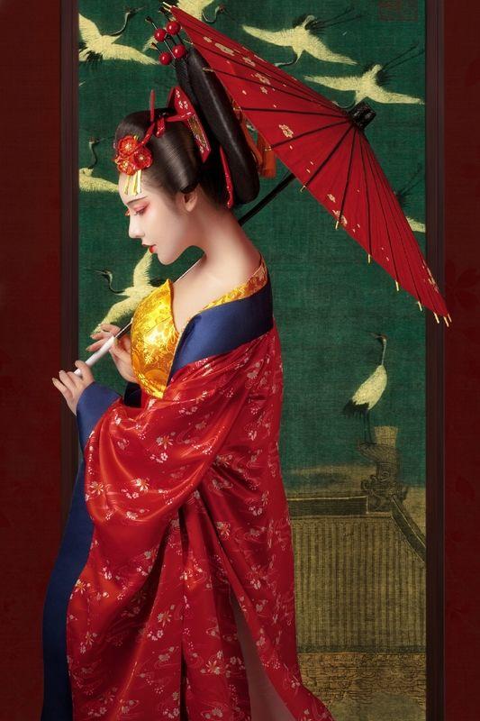 《花样》中国风古装人像摄影作品