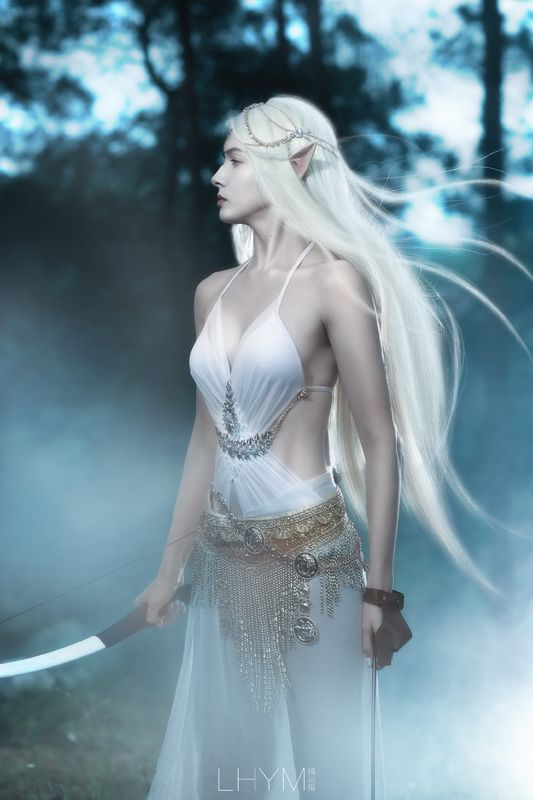 魔幻世界森系精灵艾琳摄影写真