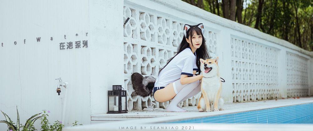 日系小清新《如果我是那只阿柴》人与狗摄影作品