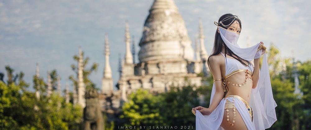 《印度舞娘》性感魅惑美女图片欣赏