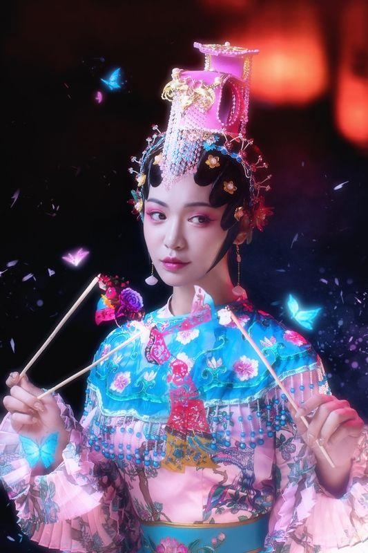 《虞兮》中国风古装人像摄影欣赏
