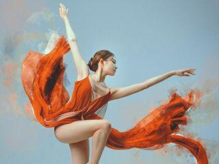 《朱砂》现代舞蹈舞�e姿摄影作品欣赏