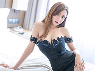 [IMiss]爱蜜社美女ceci黑色短裙性感图片[47p]