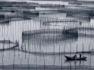 霞浦摄影点-八尺门围网
