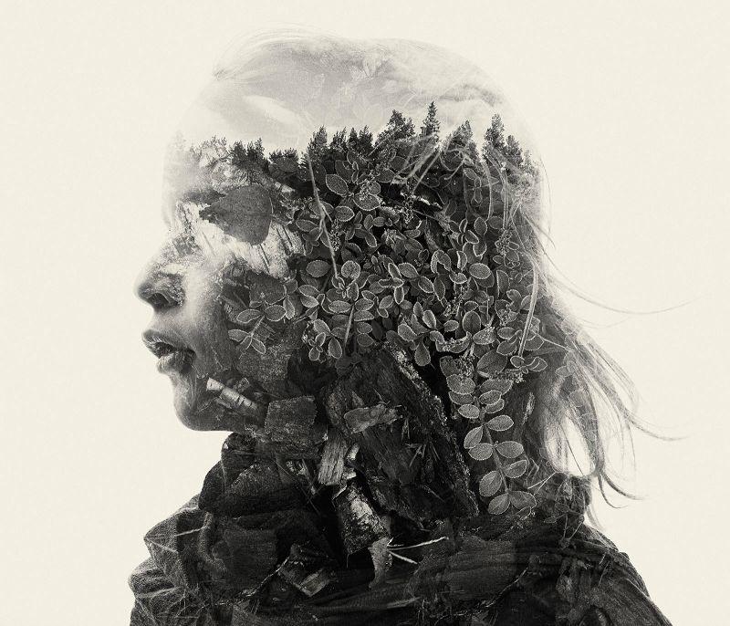 《我们是自然》Christoffer Relander双重曝光摄影作品