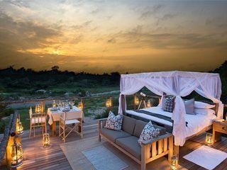 摄影好地方看看南非奢华露天树屋别