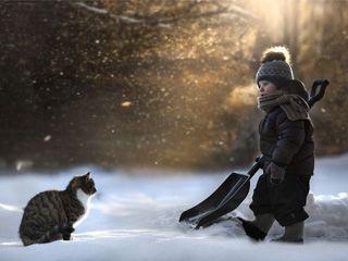 摄影师Elena Shumilova镜头下的孩子与农场