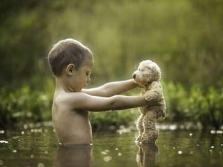 捕捉孩子成长摄影家记录美好照片