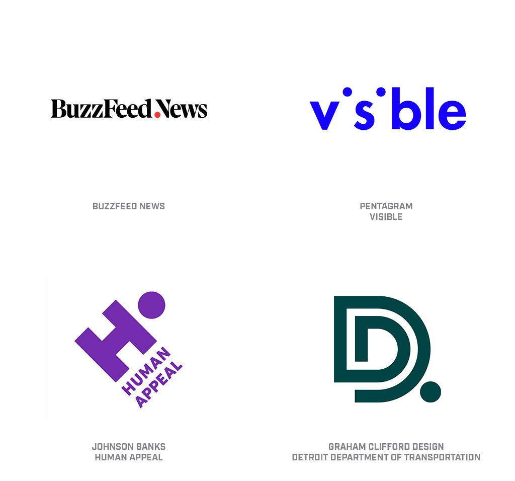 这个小圆点,在如今的很多 logo 中已经超出了装饰性的范畴,基于不同的